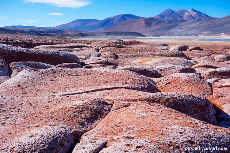 Piedras Rojas from the top