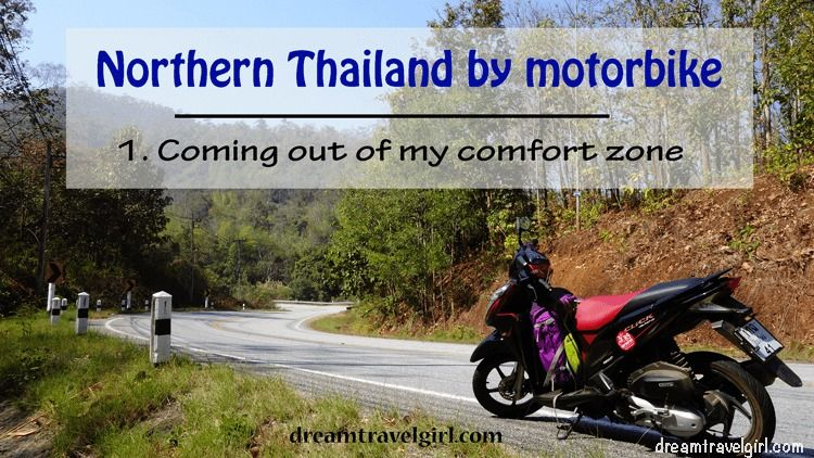 Northern Thailand by motorbike: coming out of my comfort zone