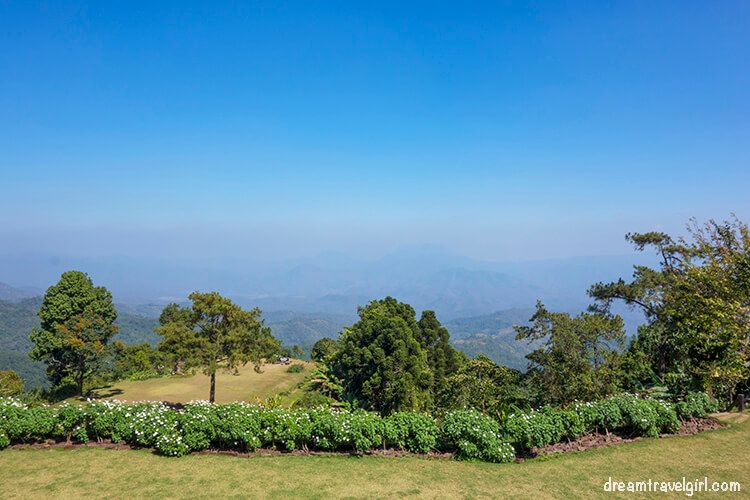 Huai Nam Dang National Park: views from the visitor center