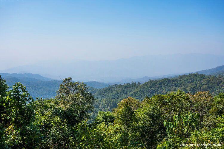 Road from Ban Mae Ma Lai to Huai Nam Dang: views