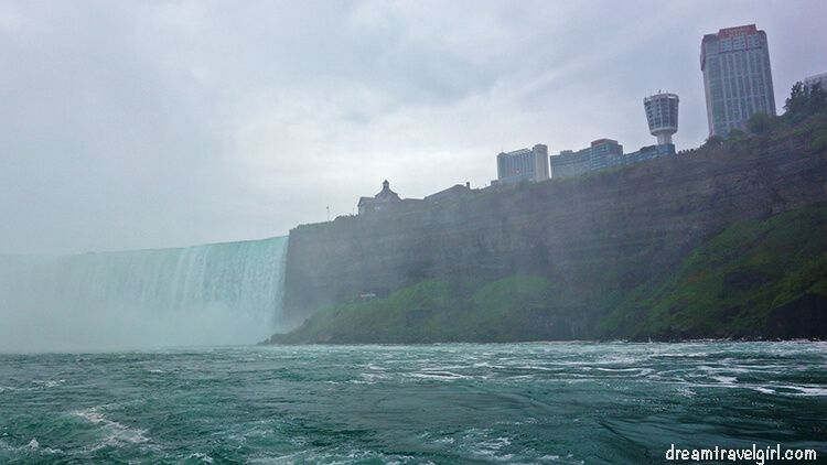 Niagara Falls Canada, skyline of hotels
