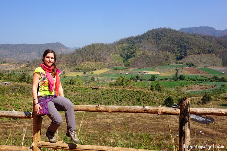 Northern Thailand road trip: views and me