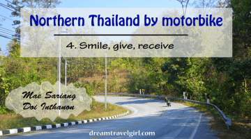Northern Thailand by motorbike (4): Mae Sariang and Doi Inthanon