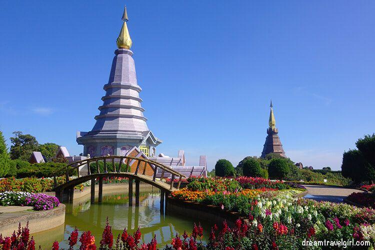 Doi Inthanon: Royal pagodas