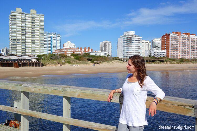 Yo en Punta del Este, Uruguay