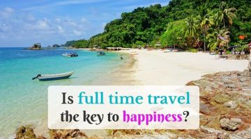 Is full time travel the key to happiness?