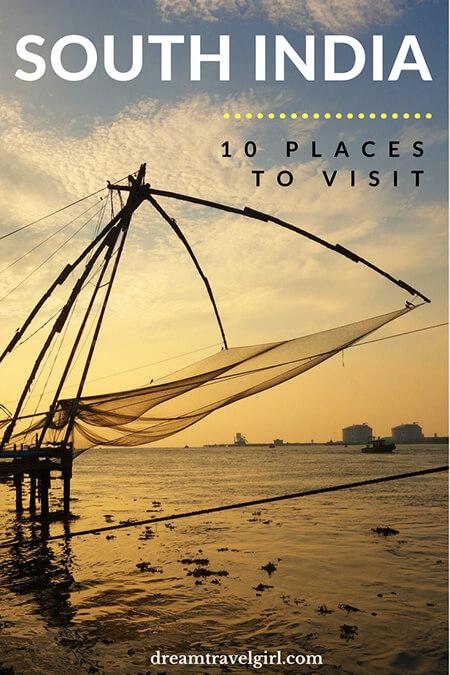 10 places to visit in South India: in Kerala, Karnataka and Tamil Nadu