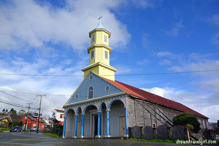 Wooden church in Chonchi