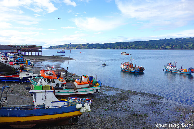Boats in Dalcahue