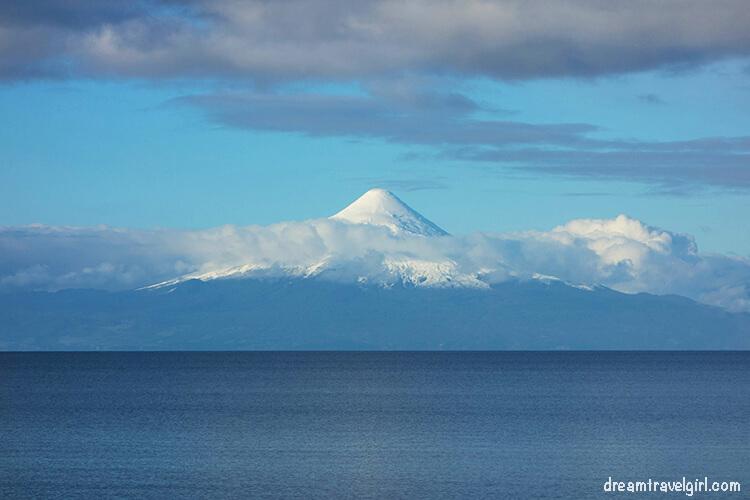 Volcano Osorno from Frutillar
