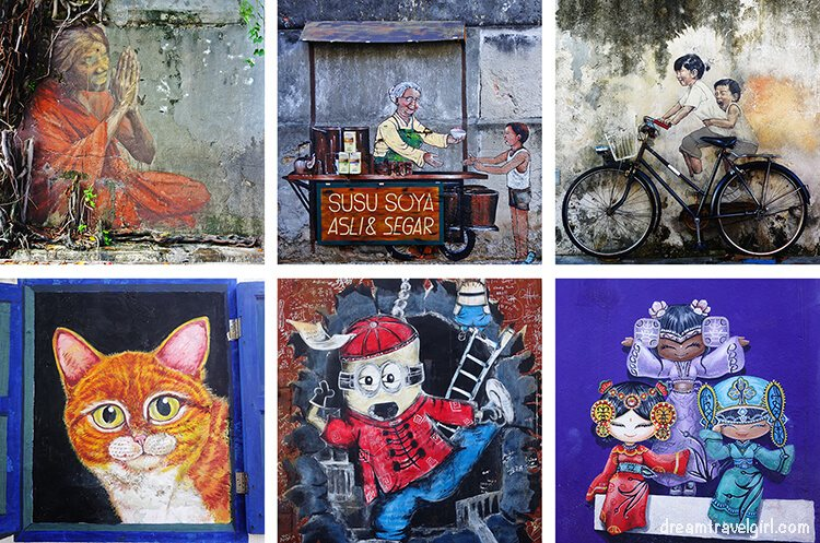 Other examples of street art in Georgetown