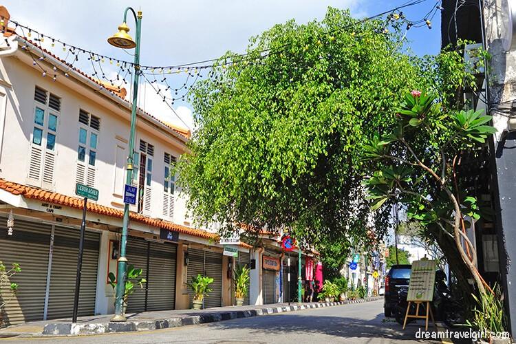 Una calle aleatoria del centro