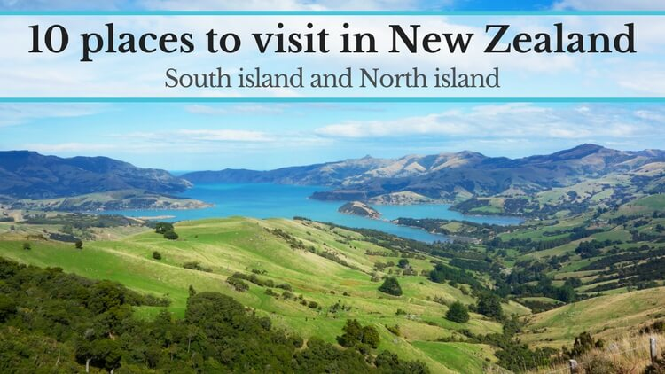 places to visit in New Zealand