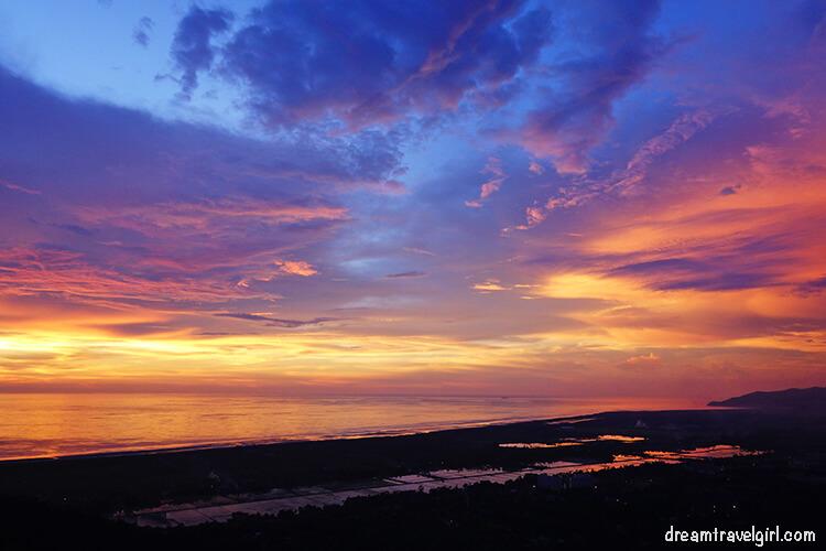 Sunset from Bukit Genting, Penang