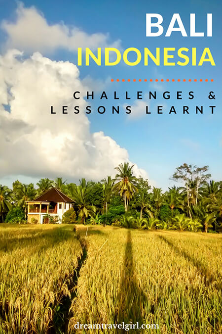 Bali, Indonesia: challenges and lessons learnt