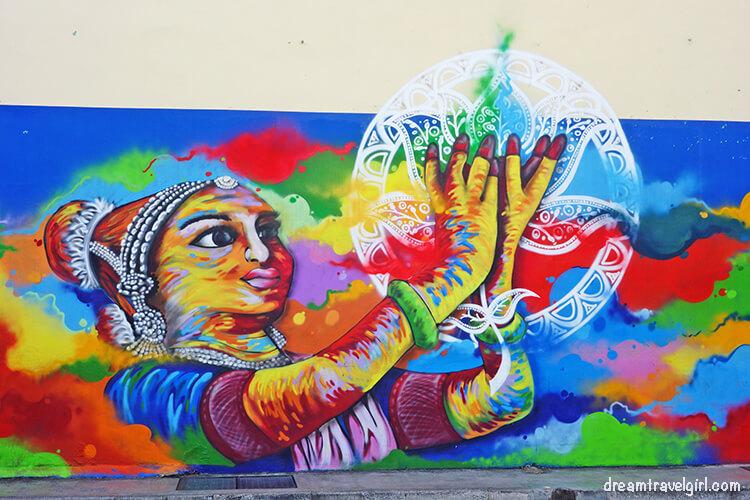 Street art in Singapore