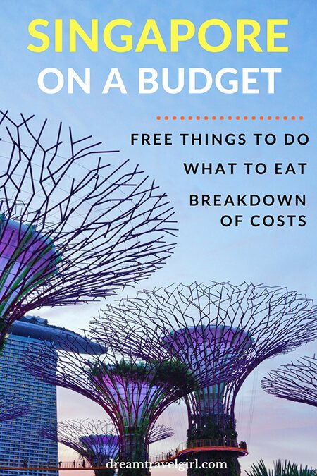 Singapore on a budget: free things to do, what to eat and where, and my complete expenses breakdown