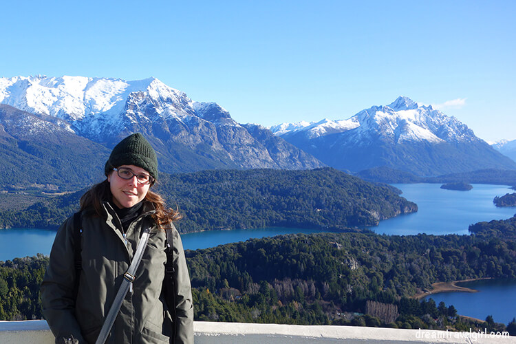 Bariloche, Argentinian Patagonia: views from Cerro Campanario on a clear day