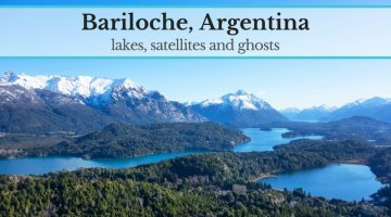 Bariloche: lakes, satellites and ghosts
