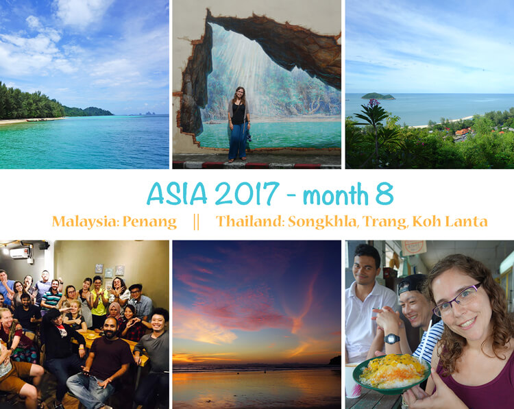 First year as digital nomad: photo summary of month 8