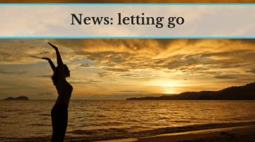 News: letting go