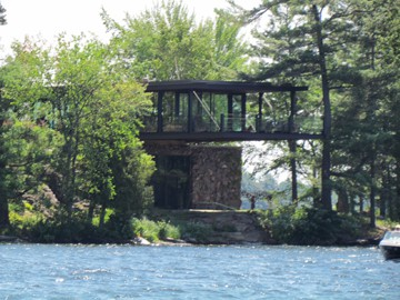 Viamede Resort Stoney Lake Tour Glass Cottage 1