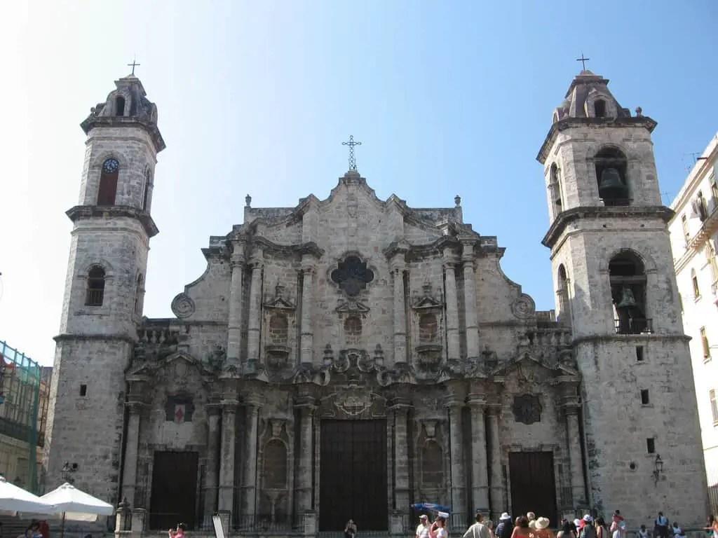 Havana Cuba Cathedral