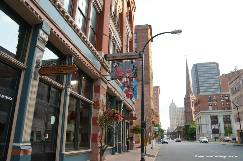 City of Buffalo New York Buzz Lofts on Pearl
