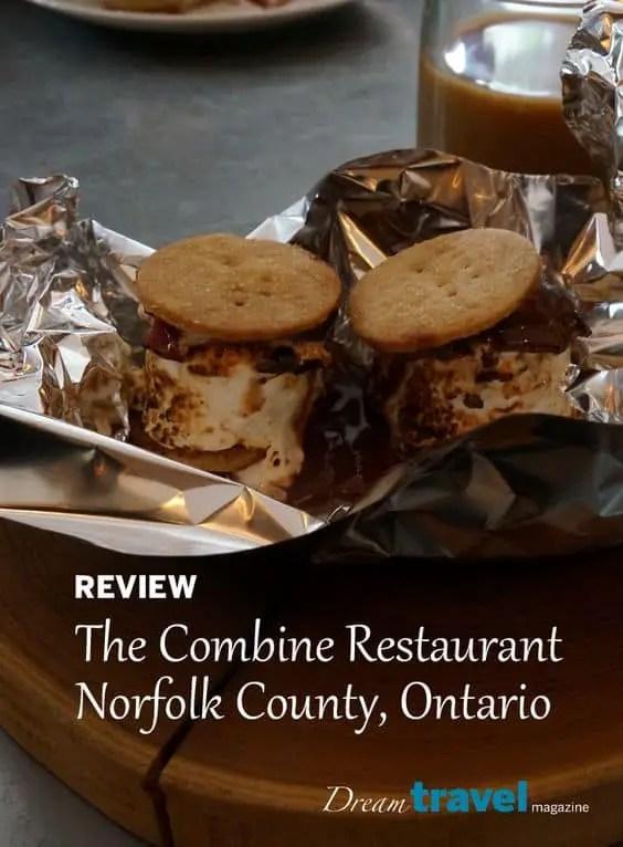 Review The Combine Restaurant Simcoe, Norfolk region Ontario