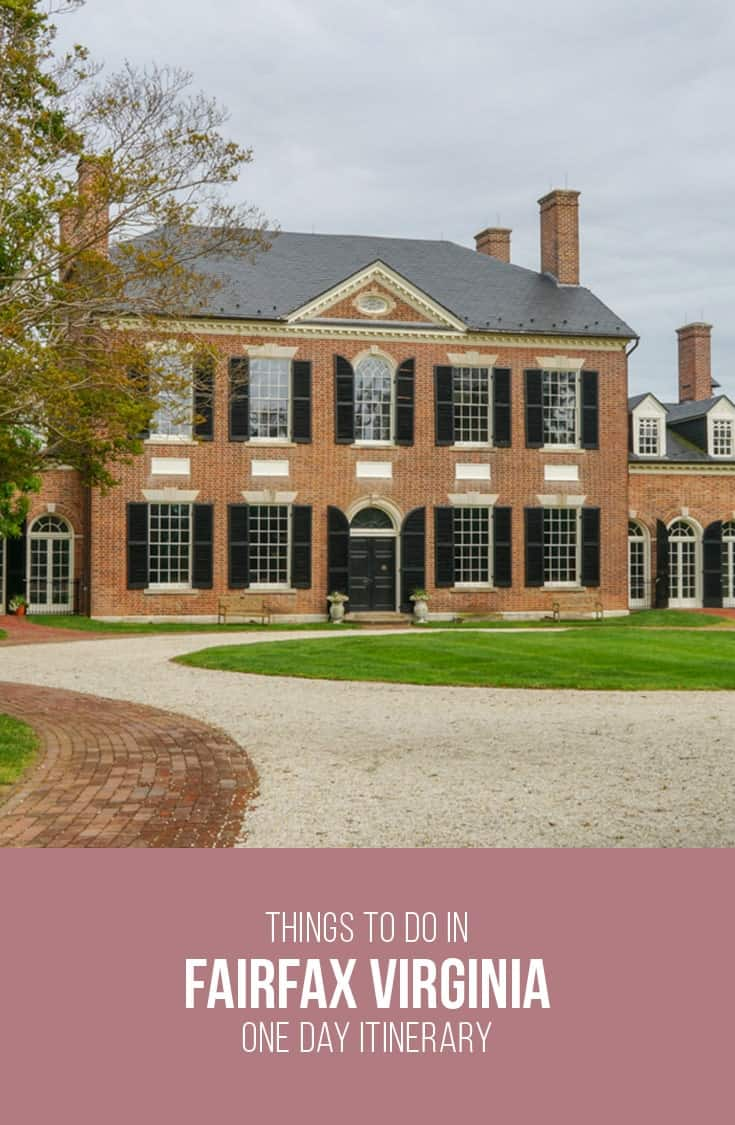 One day itinerary of things to do in fairfax virginia for Cost to build a house in northern virginia