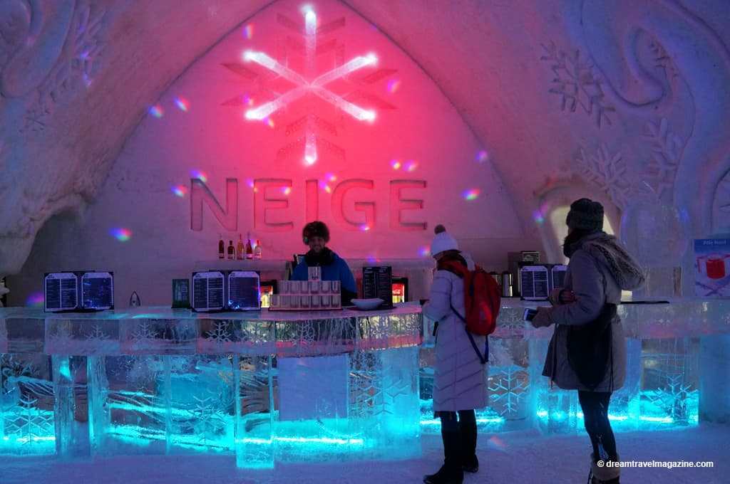 Dream Inside The Ice Walls Of The Quebec City Ice Hotel