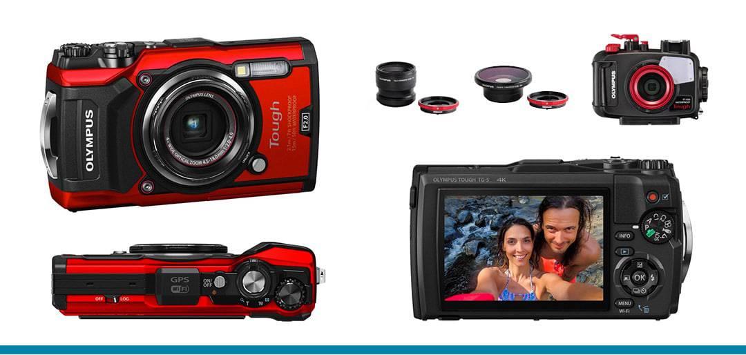 Olympus Tough 2018 Best Underwater Waterproof Digital Cameras for the Beach