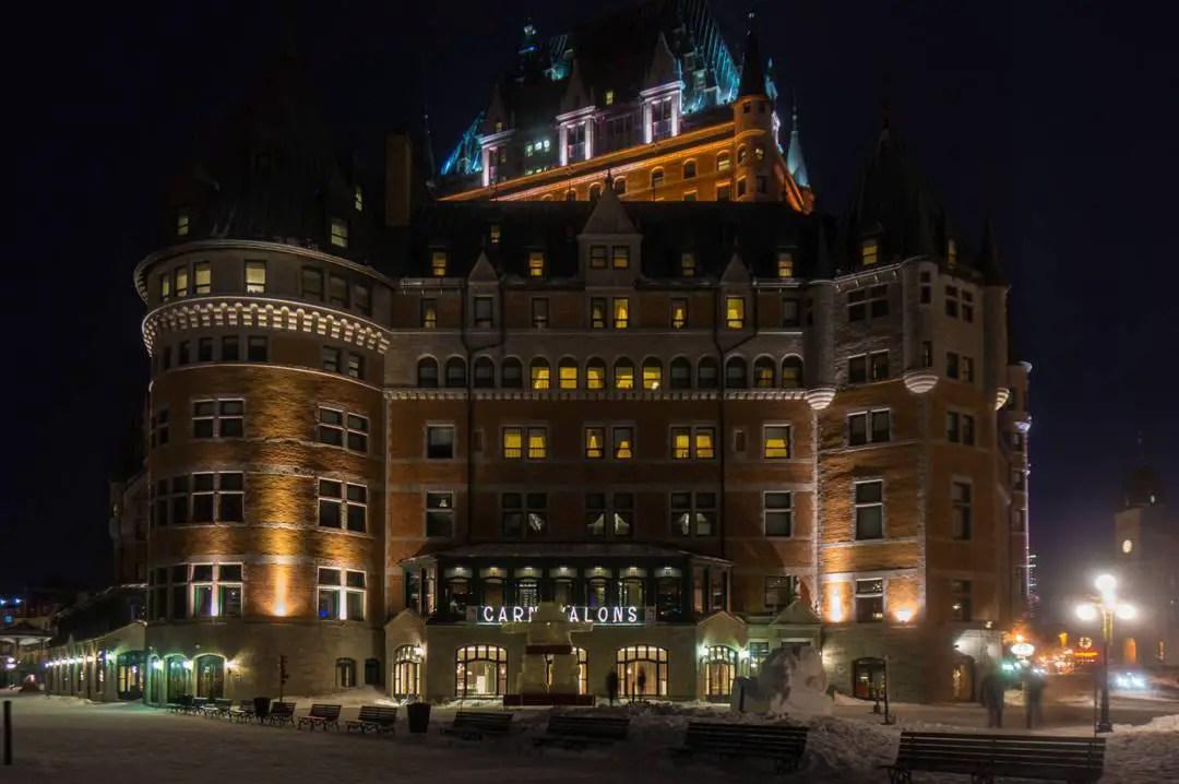 Fairmont Chateau Frontenac Quebec City Winter-172