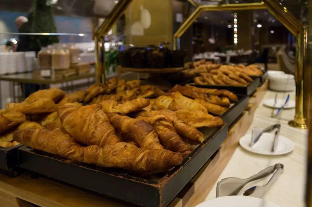 Buffet Breakfast Fairmont Chateau Frontenac Quebec City Winter