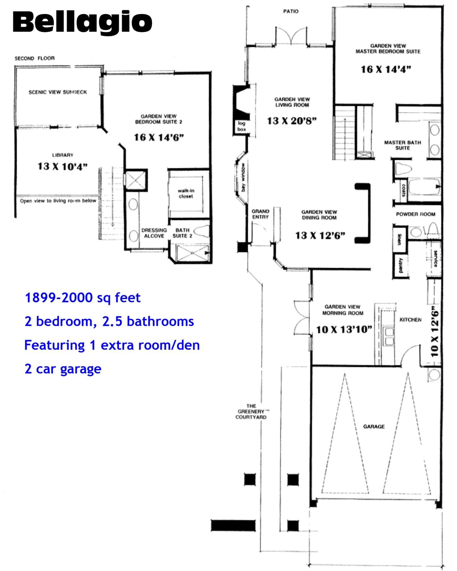 Ocean Hills Country Club Bellagio Floor Plans Ocean Hills