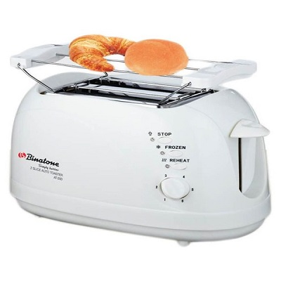 Binatone Pop Up Toaster 2 Slices AT-200