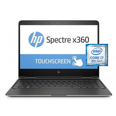HP Spectre X360 13T AE000CT Intel Core i7 Laptop 13 Inch 16 GB RAM 1 TB Solid State Drive - Silver