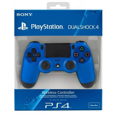 Ps4 Dual Shock Wireles Controler Blue