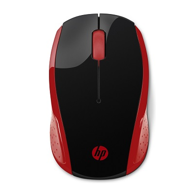 HP 200 RED WIRELESS MOUSE 2HU82AA