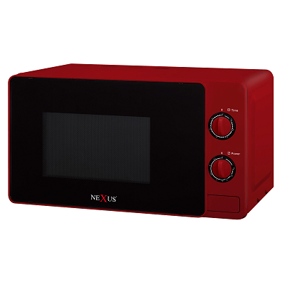 Nexus Microwave With Grill Red 20 L - NX804R
