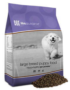 Large Breed Puppy Food Lifes Abundance - Best Large Breed Dog Food for Puppies