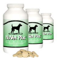 Nuvet Plus Wafers for Dreamydoodle Puppies Immune Support