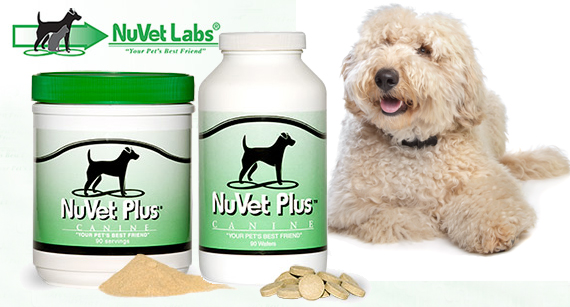 Why We Recommend Nuvet Plus Vitamins for our Puppies!