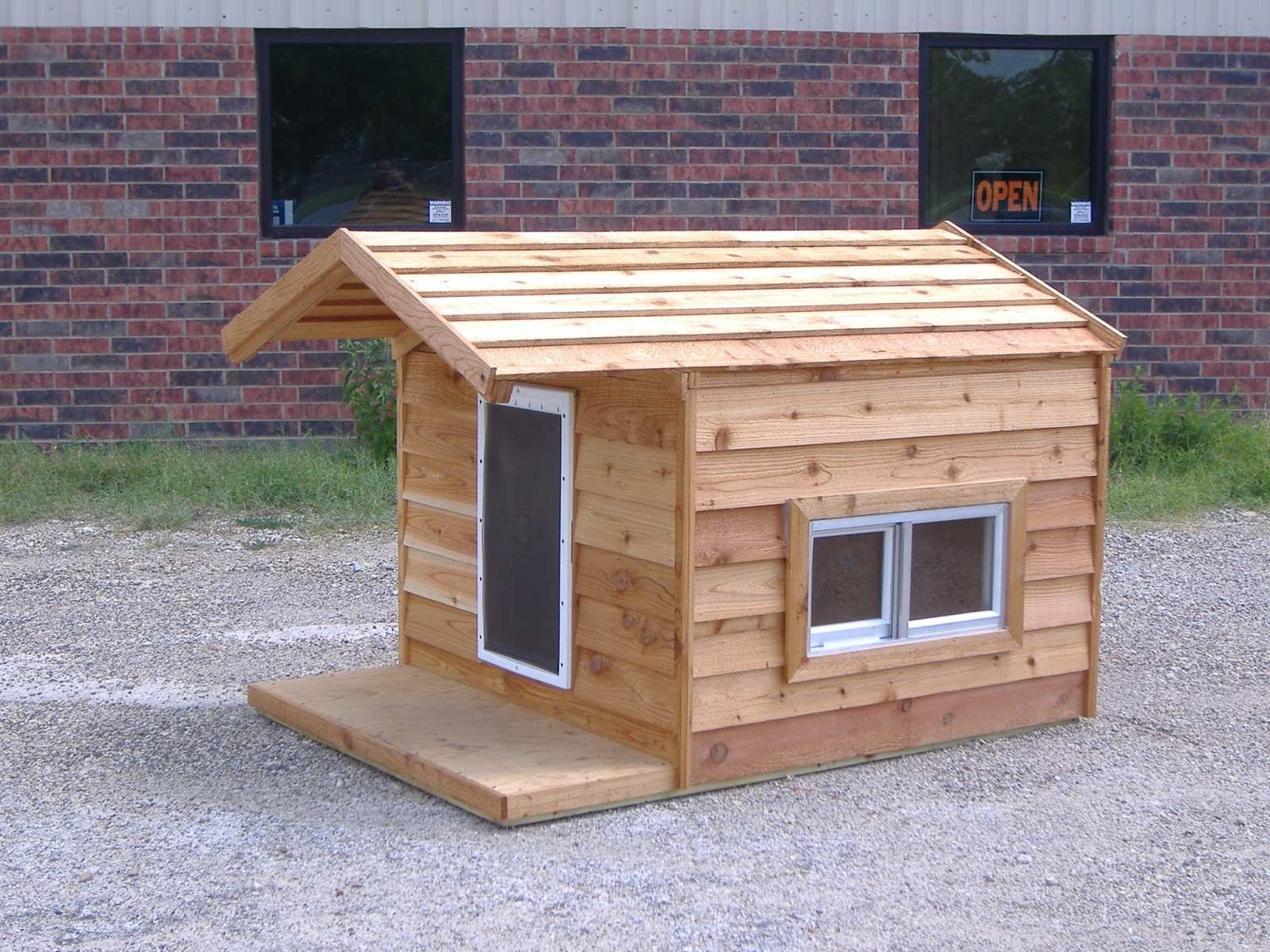 Diy dog houses dog house plans aussiedoodle and labradoodle 966e17fa05e9405b6fe6e134f9b75691 dog house condo 48x66x46 custom large insulated heated dog house with porch open top 2 windows hound heater door malvernweather Image collections
