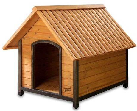 Arf Frame Dog House with Dark Frame