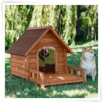 Ware Ultimate A-Frame Dog House with Optional Insulation & Door