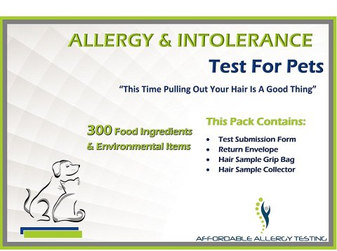 Home Environmental and Food Intolerance Test Kit for Pets
