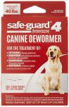 Safeguard for Goats Dewormer Dosage Chart - Dewormer for Large 40 lb Size Dogs and Puppies