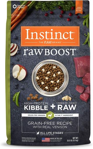 RAW BOOST DOG FOOD ON AMAZON