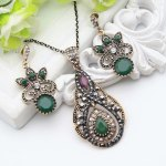 New Style Pendant Jewelry Sets . Indian style. Dreamy